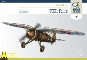 Arma Hobby 70016 PZL P.11c Junior Set