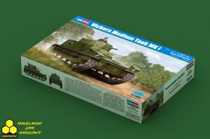 Hobby Boss 83878 Vickers Medium Tank MK I