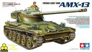 Tamiya 35349 French Light Tank AMX-13