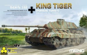 Meng TS-037 German Heavy Tank  Sd.Kfz.182 King Tiger (Porsche Turret)