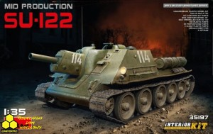 MINI ART 35197 Soviet Self-Propelled Gun SU-122 (Mid Production)