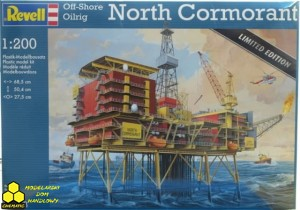 REVELL 08803 NORTH CORMORANT Off-Shore Oilrig