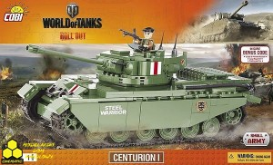 Klocki Cobi 3010  Centurion I World of Tanks