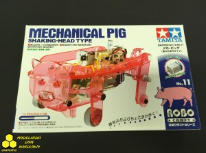 Tamiya Edu Set 71111 Mechaniczna świnia