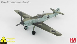 "Hobby Master HA8705 Messerschmitt BF 109E-3 1./JG 2 ""Richthofen"", Luftwaffe Oblt. Otto Bertram May 1940"