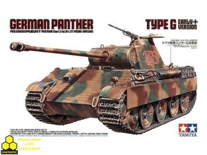 Tamiya 35170 German Panther Ausf. G Sd.Kfz. 171 Early Version