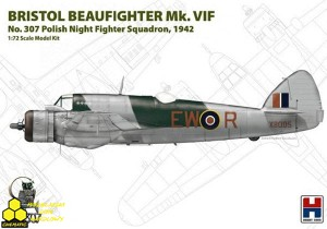 Hobby2000 72003 Bristol Beaufighter Mk.VIF 307th Polish Night Fighter Squadron 1942