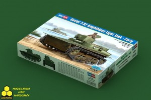 Hobby Boss 83818 Soviet T-37 Amphibious Light Tank - Early