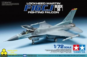 Tamiya 60786 Lockheed Martin F-16CJ Block 50 Fighting Falcon