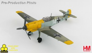 "Hobby Master HA8706 Messerschmitt BF 109E-4 ""Marseille"" 1.(J)/ LG 2, France, September 1940"