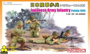 Dragon 6555 Japanese Army Infantry Peleliu 1944
