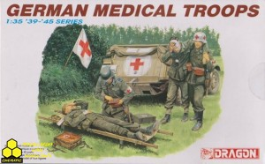 Dragon 6074 German Medical Troops