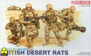 Dragon 3013 British Desert Rats