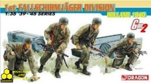 Dragon 6276 1st Fallschirmjäger Division Holland 1940
