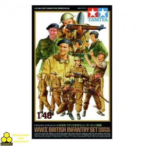 Tamiya 32526 British Infantry Set European Campaign