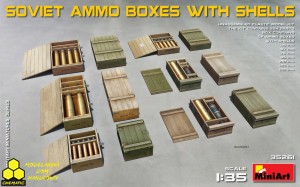 MiniArt 35261 Soviet Ammo Boxes with Shells