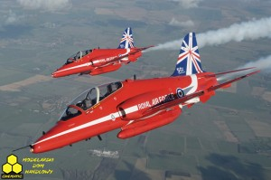 Italeri 2747 Hawk T1A ''Red Arrows 50 display seasons''