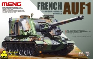 Meng TS-004 French AUF1 155MM Self-Propelled Howitzer