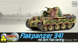 Dragon 60644 Flakpanzer 341 mit 2cm Flakvierling, Germany 1945