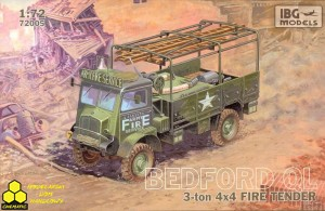 Ibg 72005 Bedford QL Fire Tender