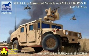 Bronco CB35136 M1114 Up-Armoured Vehicle w/XM153 CROWS II