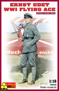 MiniArt 16030 Ernst Udet WWI Flying Ace