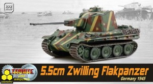 Dragon 60593 5.5cm Zwilling Flakpanzer, Germany 1945