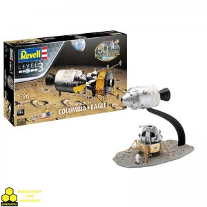 REVELL 03700 Apollo 11 Columbia-Eagle