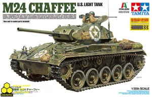 Tamiya 37020 U.S. Light Tank M24 Chaffee