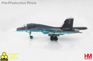 Hobby Master HA6302b Su-34 Fullback Fighter Bomber Red 26, Russian Air Force, Syria, 2015