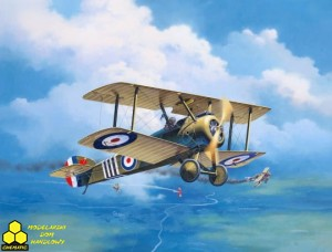 REVELL 03906 100 Years RAF: Sopwith Camel