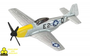 Corgi CS90627 Corgi Showcase P-51 Mustang