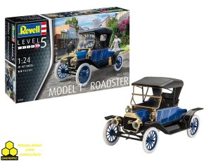 Revell 07661 Ford T Roadster 1:24