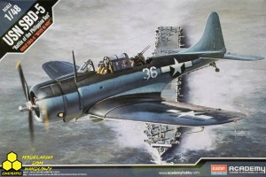 "Academy 12329 USN SBD-5 ""Battle of the Philippine Sea"""