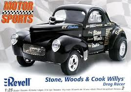 Revell 85-2032 Stone, Woods&Cook Willys Drag Racer