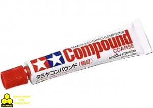 Tamiya 87068 Polishing Compound Coarse Pasta polerska gruboziarnista