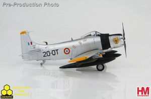 Hobby Master HA2916 Douglas A-1 Skyraider AD-4 Skyraiders EC-2/20, French Air Force, early 1960s