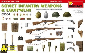 MiniArt 35304 SOVIET INFANTRY WEAPONS & EQUIPMENT