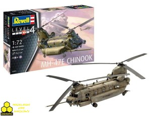 REVELL 03876 MH-47E Chinook