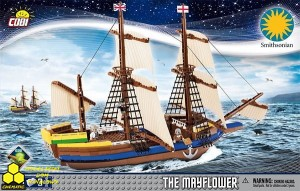 Klocki Cobi 21077 Pilgrim Ship Mayflower