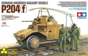 Tamiya 32413 German Armoured Railway Vehicle P204(f)