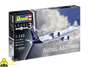 REVELL 03942 Airbus A320 Neo Lufthansa New Livery