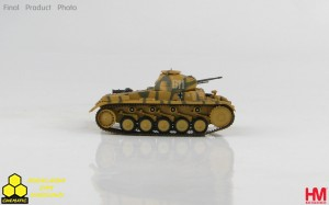 Hobby Master HG4608 German Panzer II Ausf. F 6th Pz. Div., Zitadelle 1943