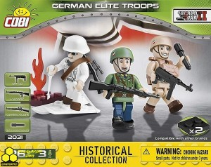 Klocki Cobi 2031 Figurki German Elite Troops