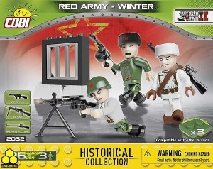 Klocki Cobi 2032 Figurki Red Army - Winter