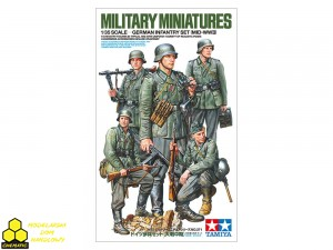 Tamiya 35371 German Infantry Set (Mid-WWII)