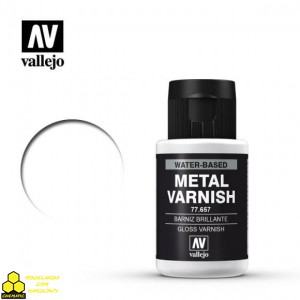 VALLEJO 77.657 Gloss Metal Varnish