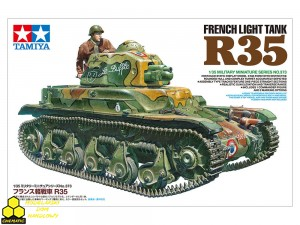 Tamiya 35373 French Light Tank R35
