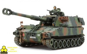 Tamiya 37022 German Bundeswehr Self-Propelled Howitzer M109A3G