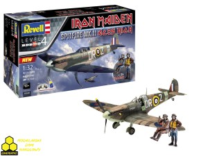 "REVELL 05688 Spitfire Mk.II ""Aces High"" Iron Maiden Set"